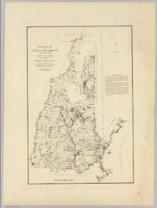 A topographical map of the State of New Hampshire. 1784
