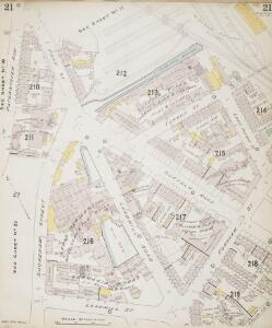 Insurance Plan of Sheffield (1896): sheet 21