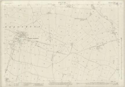 Derbyshire LIII.3 (includes: Barton Blount; Church Broughton; Foston and Scropton; Hatton; Longford) - 25 Inch Map