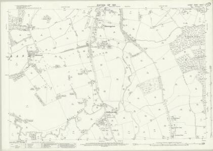 Surrey XXXIV.7 (includes: Horley; Reigate) - 25 Inch Map