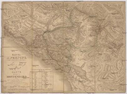 Karta Crnegore