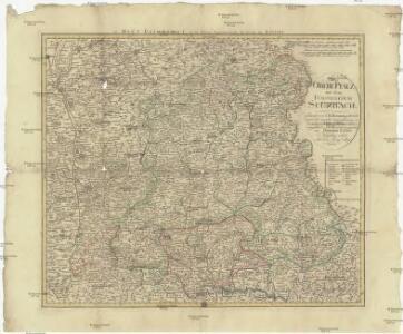 Die Obere Pfalz mit dem Fürstenthum Sulzbach
