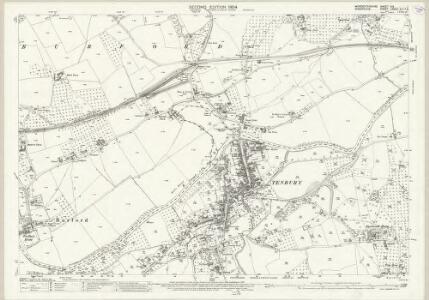 Worcestershire XIX.1 (includes: Boraston; Burford; Nash; Tenbury) - 25 Inch Map