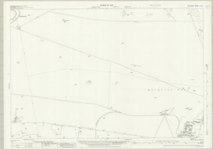 Wiltshire LIV.6 (includes: Durrington; Figheldean; Shrewton; Winterbourne Stoke) - 25 Inch Map