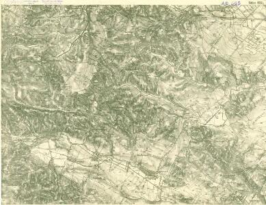 III. vojenské mapování 4557/2