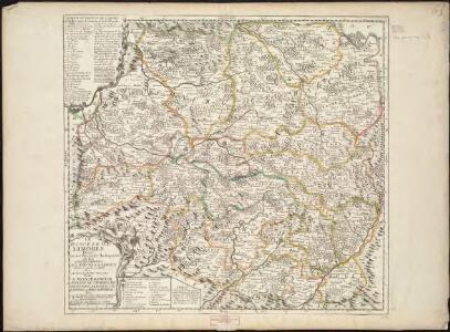 La Diocese de Limoges : divisé en ses dix huict Archipretré et les Gouvernemens de la Marche et du Limosin dans les quels il s'èténd avec le Diocese de Tulles... Piperac