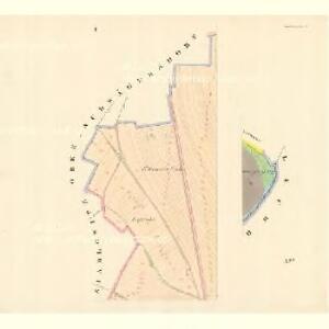 Loschitz (Lossice) - m1608-1-001 - Kaiserpflichtexemplar der Landkarten des stabilen Katasters