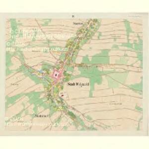 Wigstadtl (Wittkow) - m3417-1-009 - Kaiserpflichtexemplar der Landkarten des stabilen Katasters