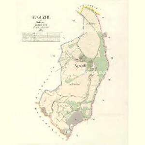 Augezdl - c8227-1-001 - Kaiserpflichtexemplar der Landkarten des stabilen Katasters