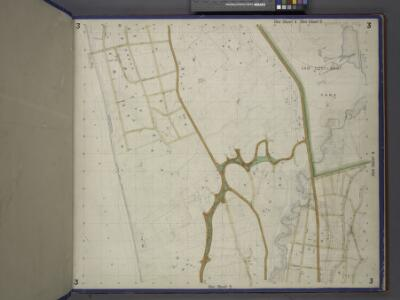 Bronx, Topographical Map Sheet 3; [Map bounded by Bates St., Riverdale Ave., Moshold Ave., Broadway, Vancortlandt Ave., Bailey Ave., Ft. Independence St.; Including Albany Road, Church Kingsbridge Ave., Webbers Lane, Ackerman St., Johnson Ave., Spuyte...