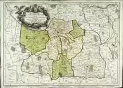 Nouvelle carte de l'evêché de Rennes