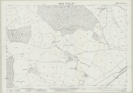 Somerset XLIII.13 (includes: Trudoxhill; Wanstrow; Witham Friary) - 25 Inch Map