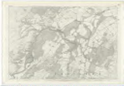 Inverness-shire (Mainland), Sheet X - OS 6 Inch map