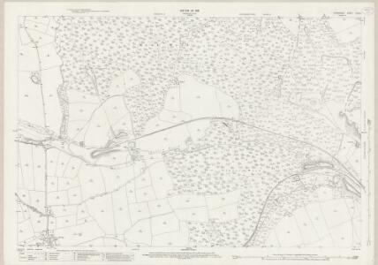 Derbyshire XVIII.9 (includes: Barlow; Chesterfield; Unstone) - 25 Inch Map