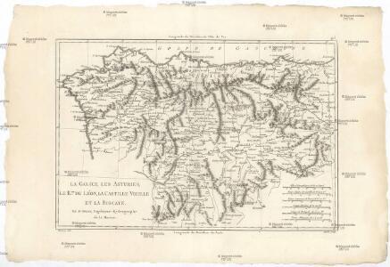 La Galice, les Asturies, le r. de Léon, la Castille Vieille et la Biscaye