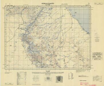Somaliland 1:250 000, Sa-Wer