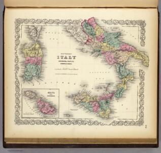 Southern Italy: Kingdom Of Naples, I. Sardinia & Malta.