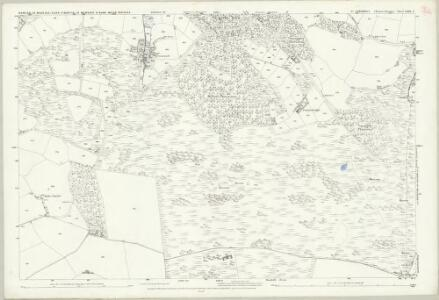 Cornwall LXXX.8 (includes: Cury; Grade Ruan; Mawgan in Meneage; St Martin in Meneage) - 25 Inch Map