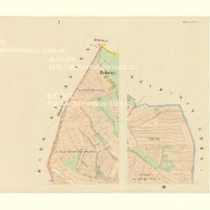 Lischitz (Lissiz) - c4139-1-001 - Kaiserpflichtexemplar der Landkarten des stabilen Katasters