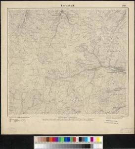 Meßtischblatt 3668 : Lautenbach, 1886