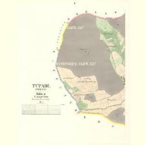 Tupadl - c8114-1-001 - Kaiserpflichtexemplar der Landkarten des stabilen Katasters