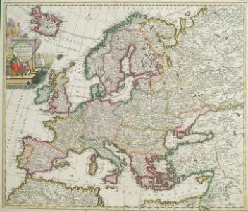 Accuratissima Europae Tabula