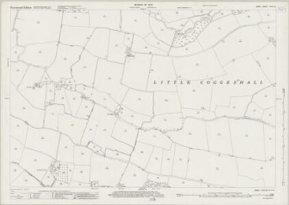 Essex (New Series 1913-) n XXXV.12 (includes: Bradwell; Coggeshall; Kelvedon) - 25 Inch Map