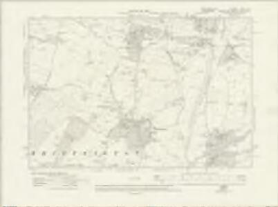 Westmorland XLVII.SE - OS Six-Inch Map