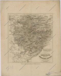 Reise Karte durch die Sächsische Schweiz
