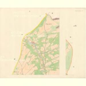 Gross Kuntschitz (Welka Kunčica) - m1425-1-001 - Kaiserpflichtexemplar der Landkarten des stabilen Katasters