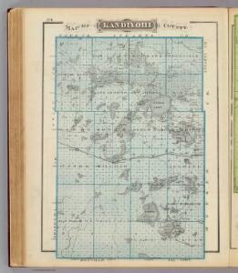 Map of Kandiyohi County.