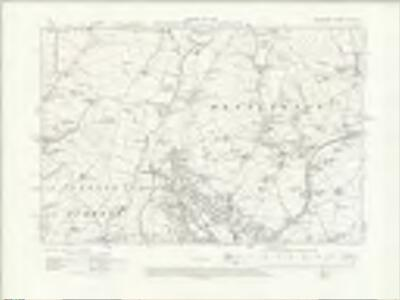 Lancashire XVI.NW - OS Six-Inch Map