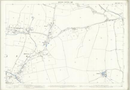 Essex (1st Ed/Rev 1862-96) XIII.3 (includes: Arkesden; Clavering) - 25 Inch Map