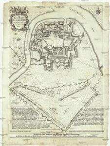 Belgradi seu Albae Graecae vera, et noua delineatio 1717