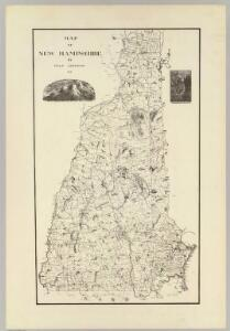 Map of New Hampshire. 1816.