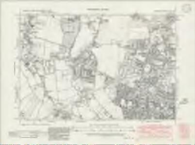 Middlesex XX.NW - OS Six-Inch Map