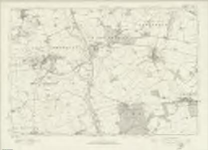 Northamptonshire LXII - OS Six-Inch Map