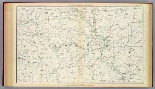 Gen. map XVII.