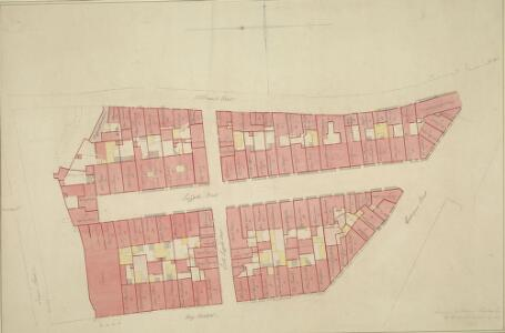 Plan of Suffolk Street, Haymarket and adjoining Property between Cockspur Street and Whitcomb Street.