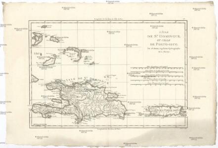L'isle de St. Domingue, et celle de Porto-Rico