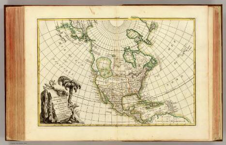 L'Amerique Septentrionale.