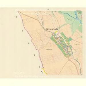 Krumpisch (Chromčy) - m0980-1-003 - Kaiserpflichtexemplar der Landkarten des stabilen Katasters