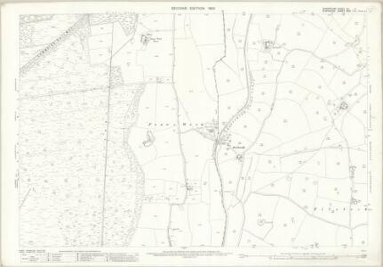 Shropshire VII.11 (includes: Bronington; Whitchurch Rural; Whitchurch Urban) - 25 Inch Map
