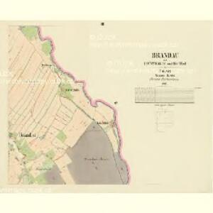 Brandau - c0456-1-003 - Kaiserpflichtexemplar der Landkarten des stabilen Katasters