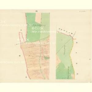 Kniezdub - m1209-1-001 - Kaiserpflichtexemplar der Landkarten des stabilen Katasters