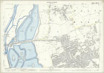 London (Edition of 1894-96) XIV (includes: Walthamstow) - 25 Inch Map