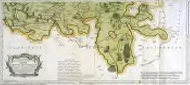 Mapa geográfico de una parte de la provincia de Leon, 2