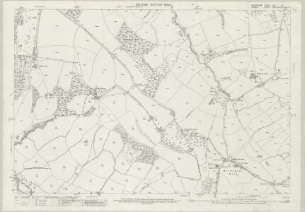 Devon LXA.13 (includes: Bettiscombe; Broadwindsor; Hawkchurch; Marshwood; Thorncombe) - 25 Inch Map