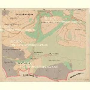 Bergreichenstein - c3068-1-005 - Kaiserpflichtexemplar der Landkarten des stabilen Katasters