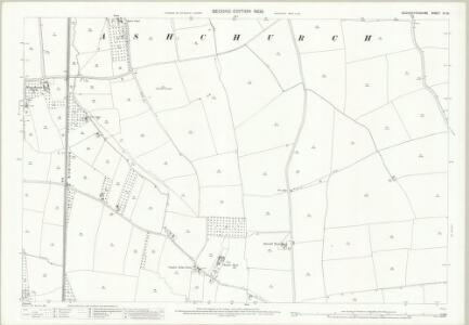 Gloucestershire XII.15 (includes: Ashchurch; Oxenton) - 25 Inch Map